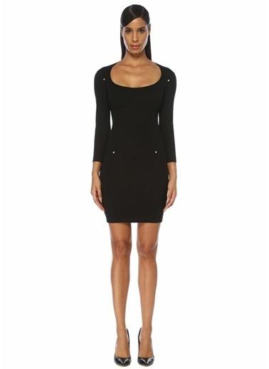 Versace Jeans Elbise Siyah